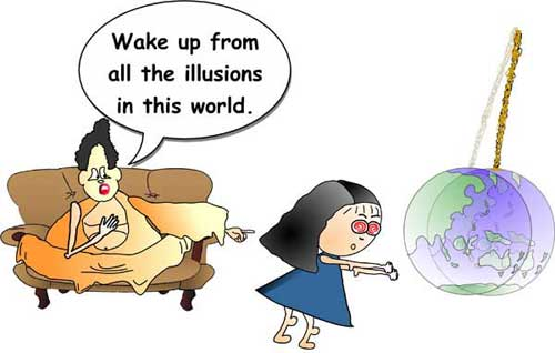 wake up from all illusions
